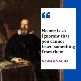 Famous Inspirational Quotes by GALILEO GALILEI