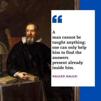 Famous Quotes by GALILEO GALILEI