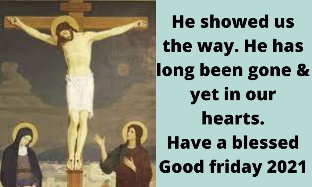 Good Friday 2021 images messages
