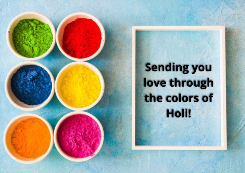 Holi 2021 wishes for Family