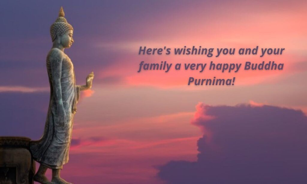 Buddha Purnima Images with wishes in English 2021