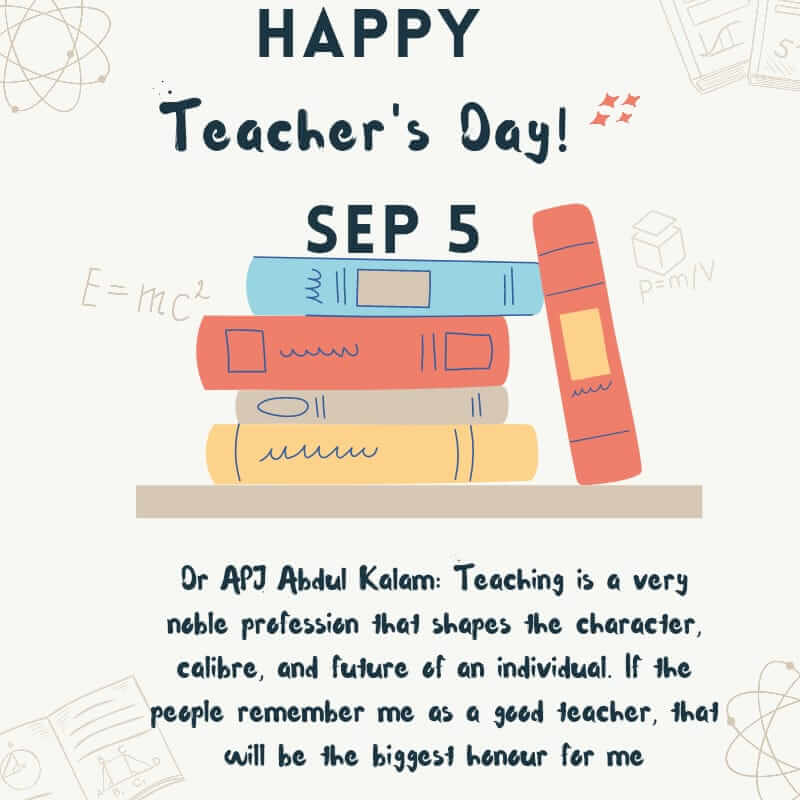 5 Sep Teachers Day wishes quotes 2021