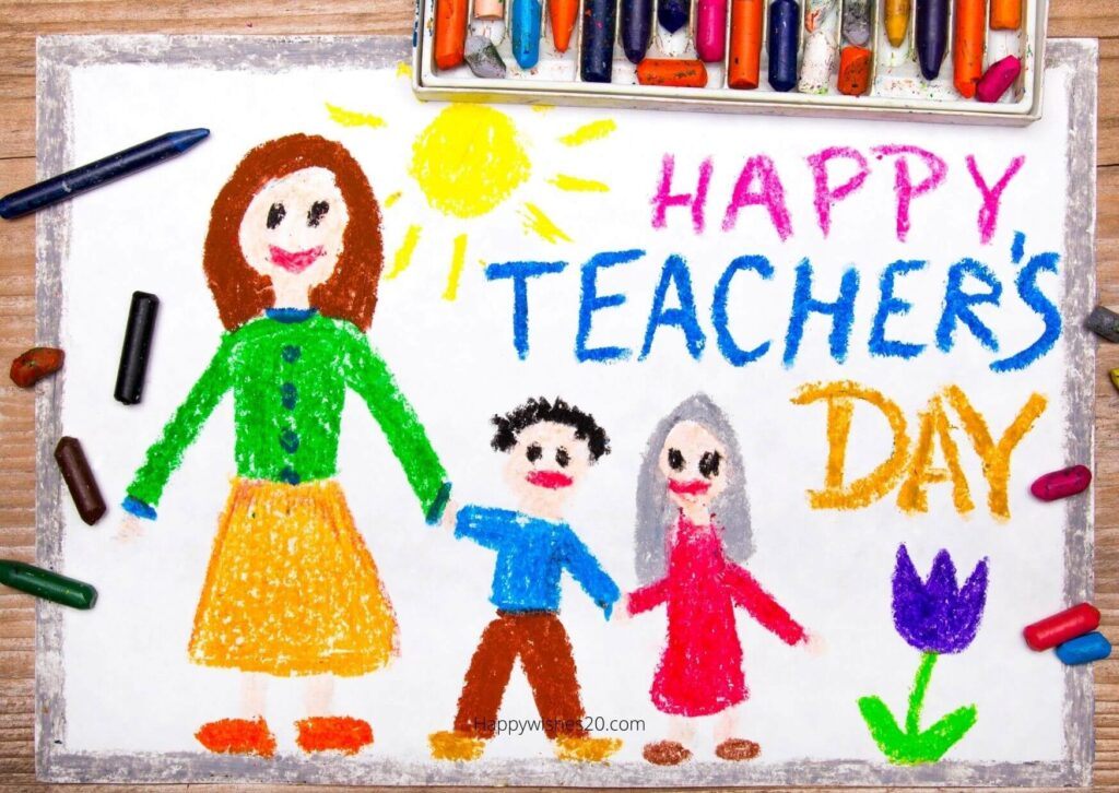 Best Teacher Day Quotes Drawing 2021