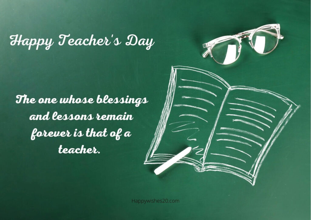 Teachers Day Quotes for Teachers 2021